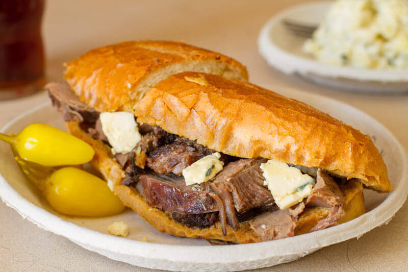 Celebrate National Sandwich Day with a French Dip at Philippe's