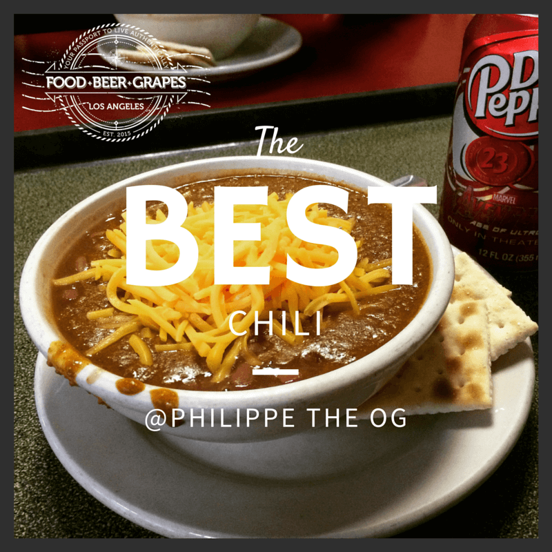 Philippe the Original -- Best Chili