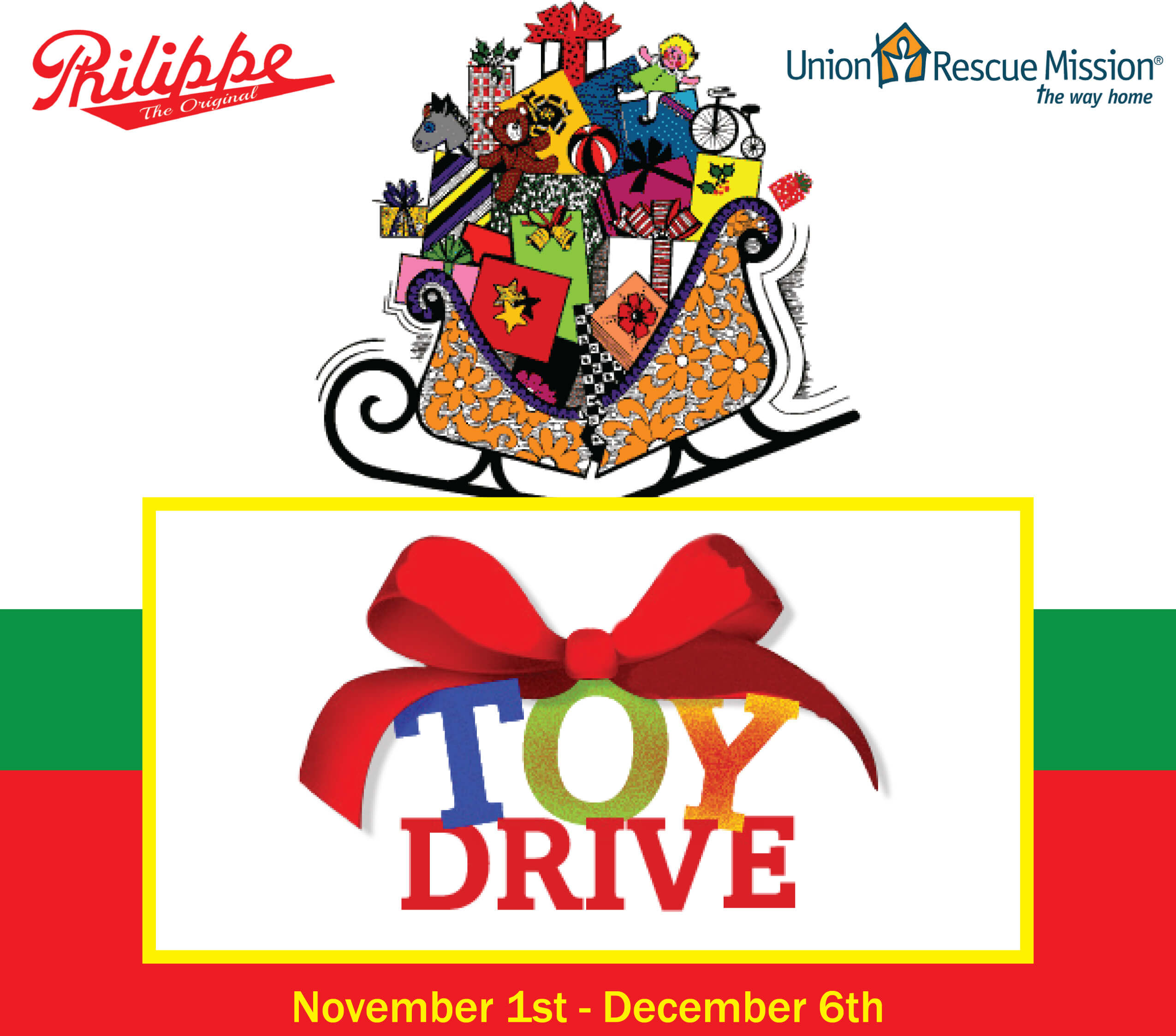 Philippe's Toy Drive