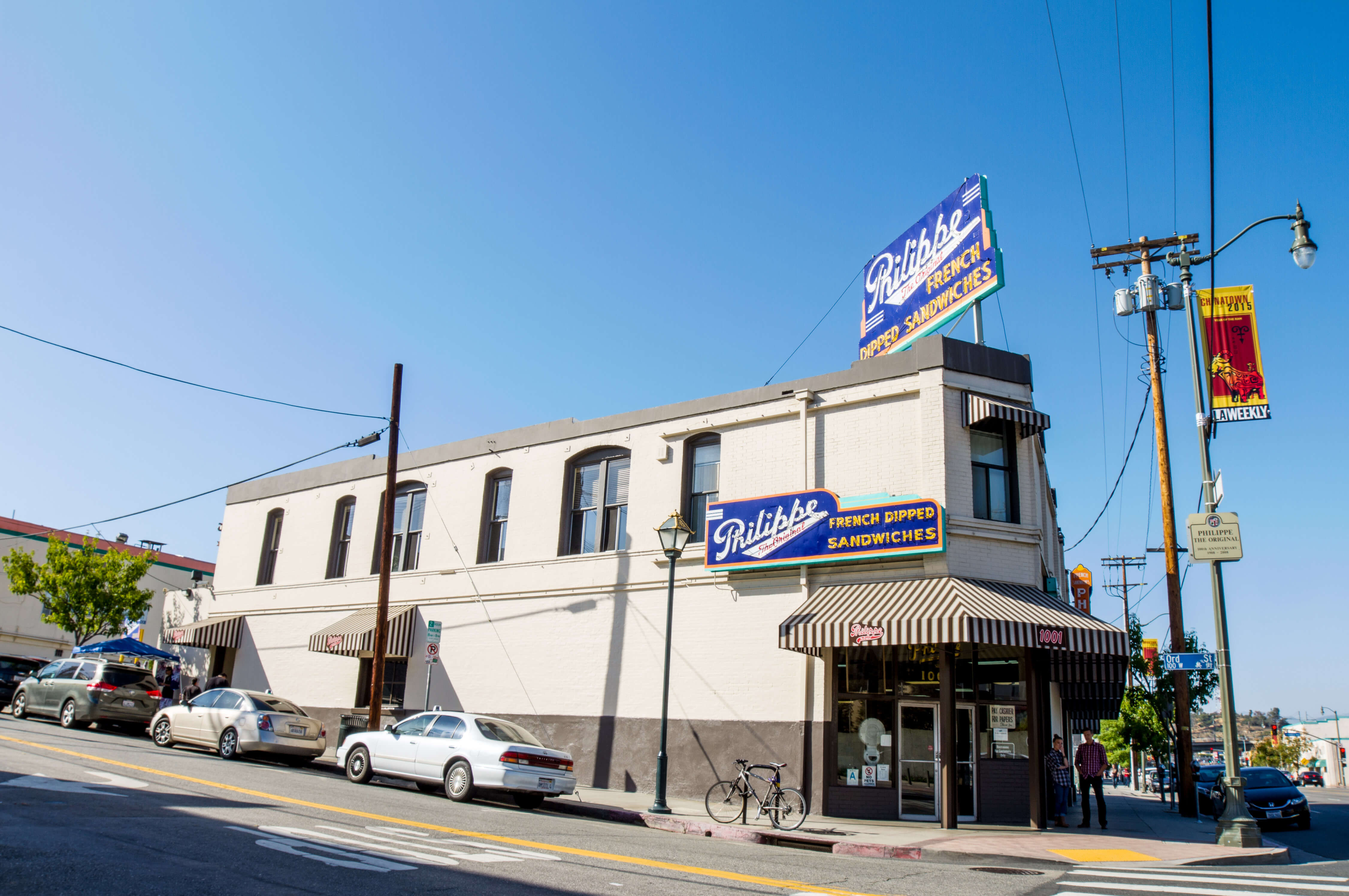 The Century-Long History of Philippe's and Its Famous French Dip Sandwich