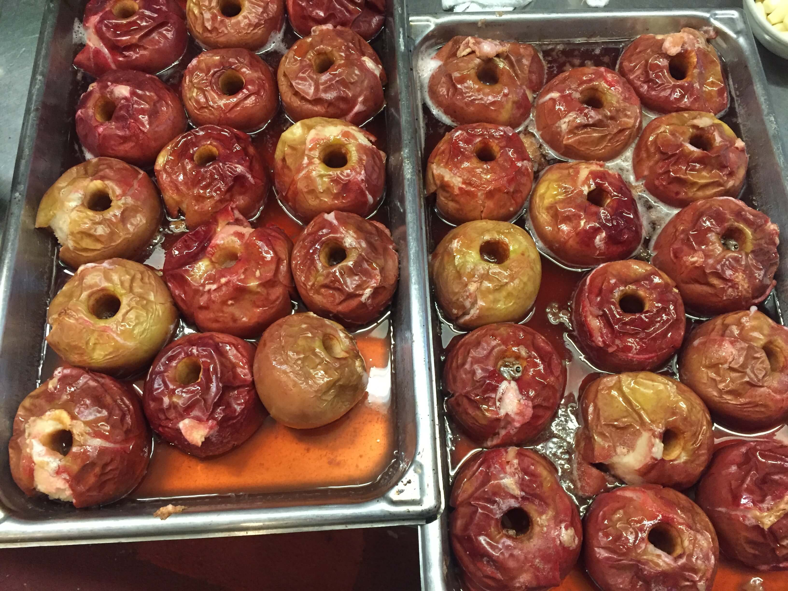 Baked Apples Are Back at Philippe's