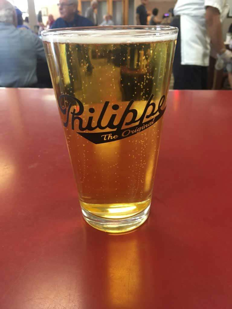 Philippe's Offers Special Beer Glass During LA Beer Week
