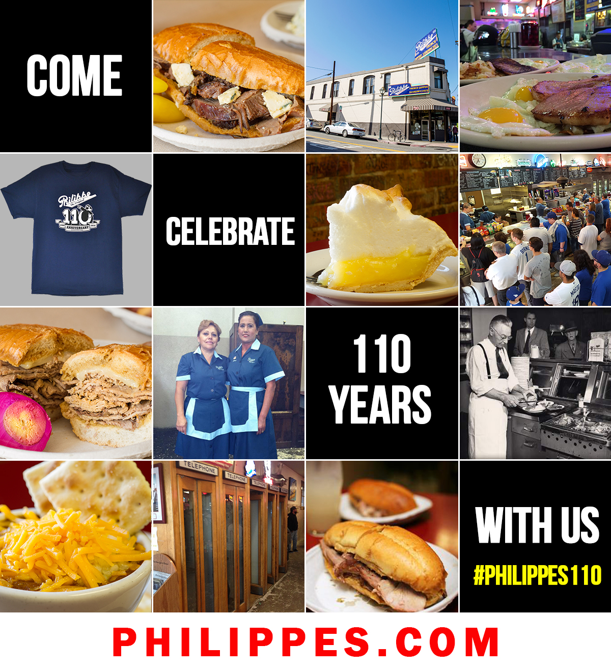 Philippe's 110th Anniversary Instagram Contest