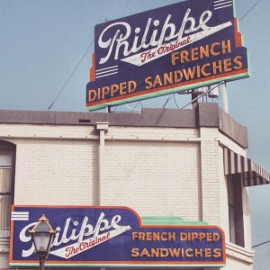 Philippe Store Sign