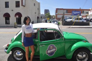 Bud Light Girl Joined Us for Opening Day LA
